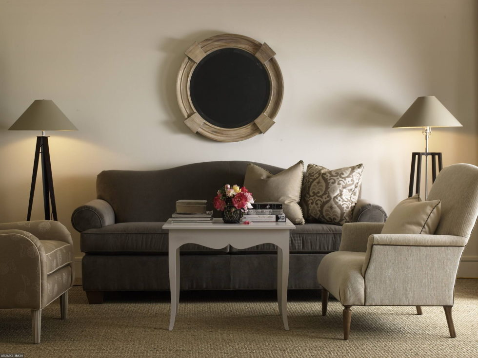 Advantages And Features Of The Beige Colour In The Interior – Living room