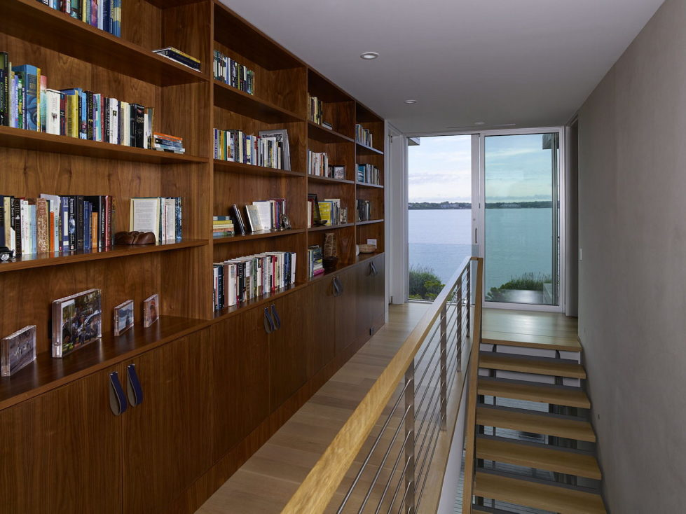Cove Residence On The Bay Shore From Lomont Rouhani Architects 10