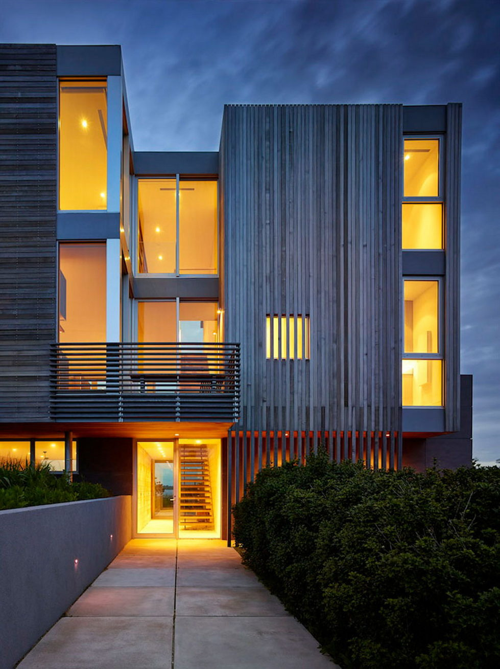 Cove Residence On The Bay Shore From Lomont Rouhani Architects 19