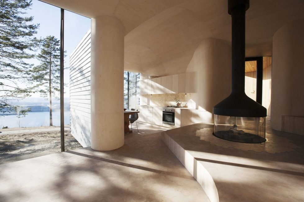 Rest House On The Territory Of Steinsfjorden Lake In Norway From Atelier Oslo Studio 1