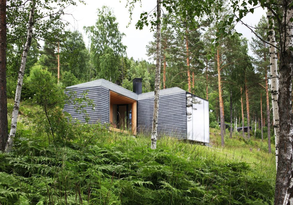 Rest House On The Territory Of Steinsfjorden Lake In Norway From Atelier Oslo Studio 10