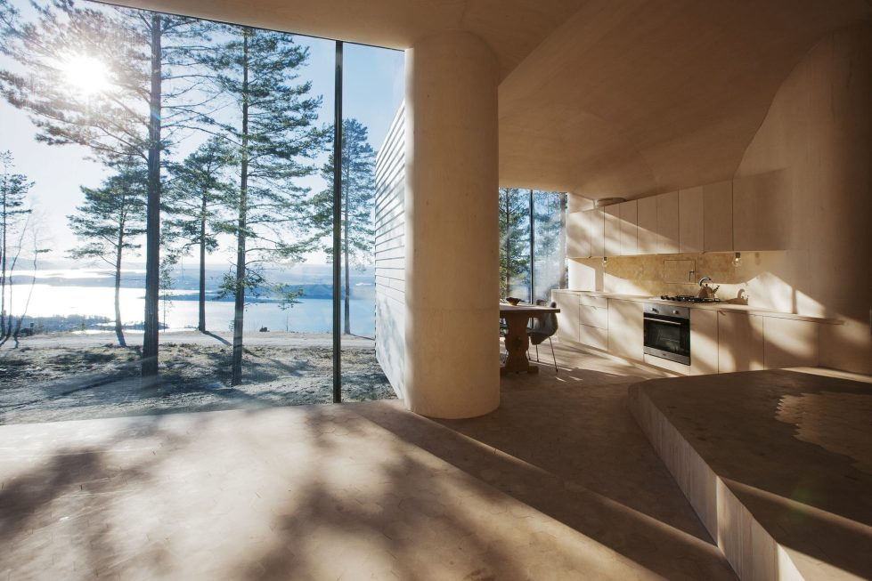 Rest House On The Territory Of Steinsfjorden Lake In Norway From Atelier Oslo Studio 8