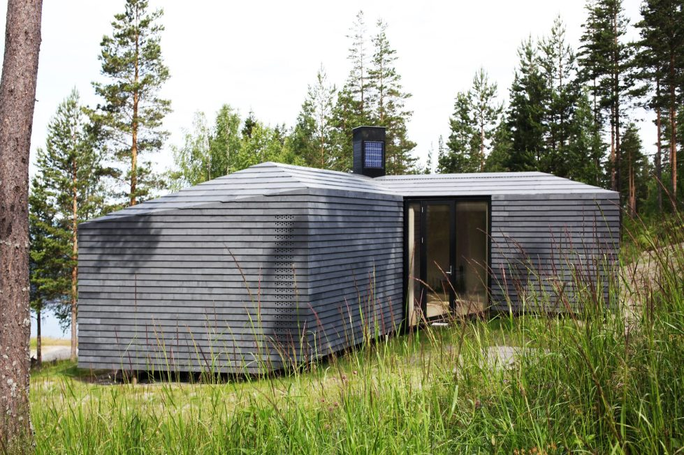 Rest House On The Territory Of Steinsfjorden Lake In Norway From Atelier Oslo Studio 9