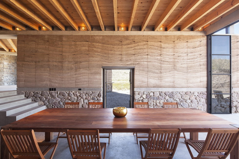 The Cave in Pilares house in Mexico from the Greenfield studio 10