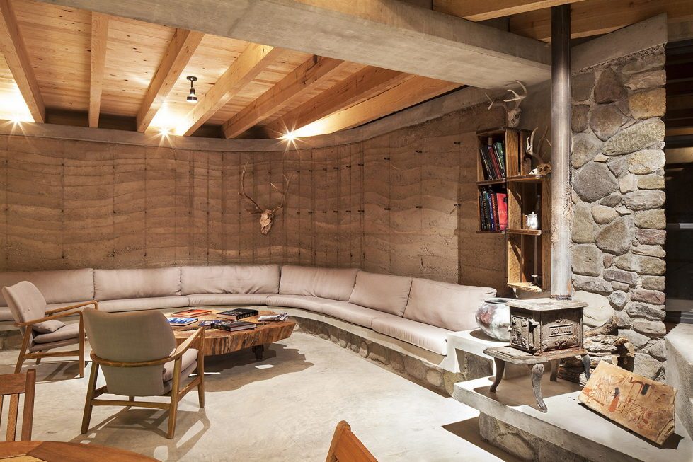 The Cave in Pilares house in Mexico from the Greenfield studio 12