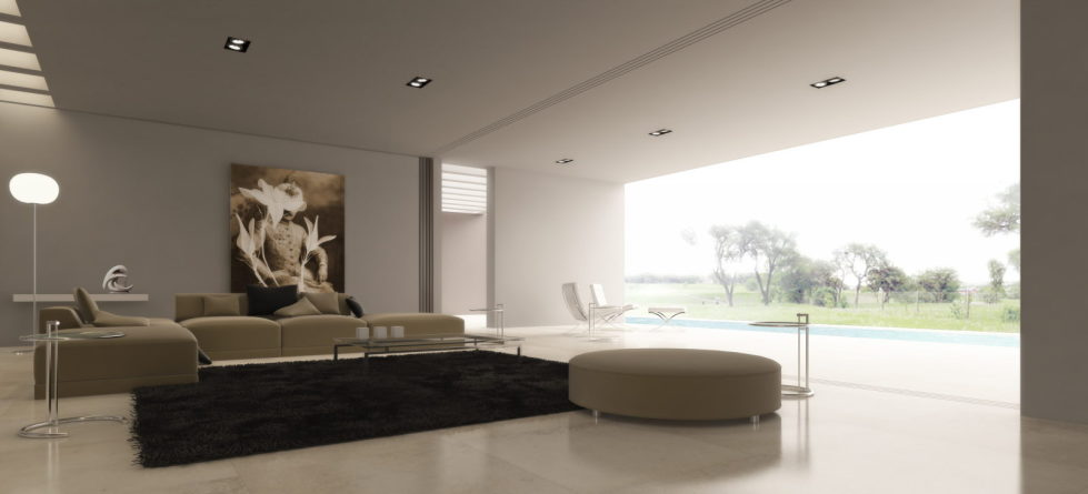 The Minimalism Style And Beige – Living room