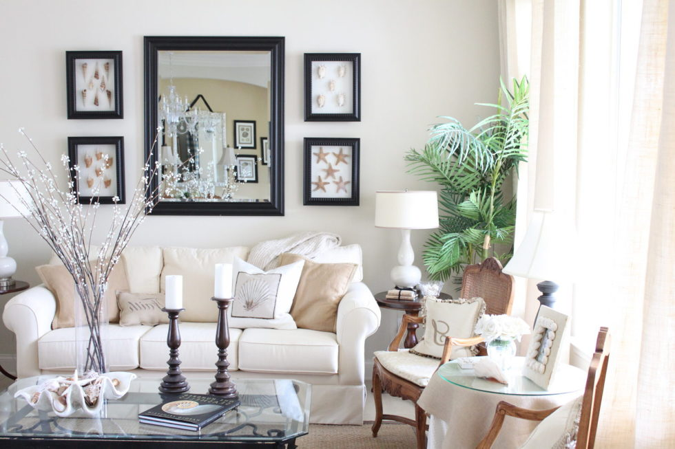 The Provence Style And Beige – Living room