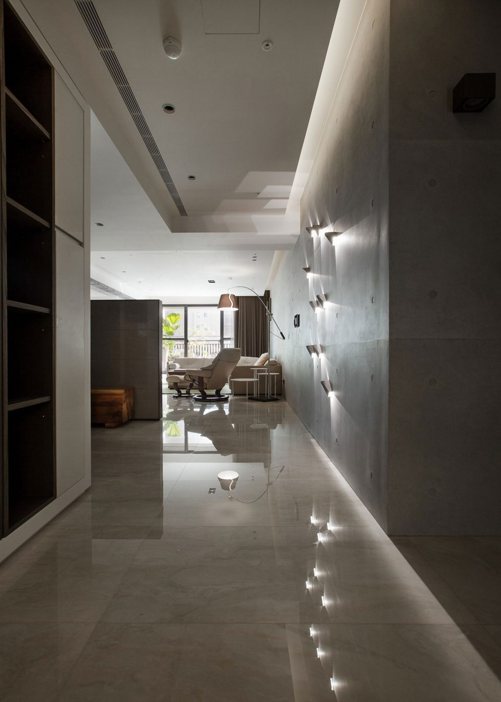 The Wang House Apartment In Taiwan Upon The Project Of The PM Design Studio 10