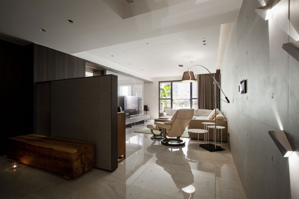 The Wang House Apartment In Taiwan Upon The Project Of The PM Design Studio 11