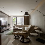 The Wang House Apartment In Taiwan Upon The Project Of The PM Design Studio 12