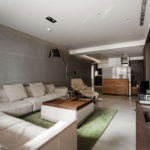 The Wang House Apartment In Taiwan Upon The Project Of The PM Design Studio 14