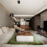 The Wang House Apartment In Taiwan Upon The Project Of The PM Design Studio 15