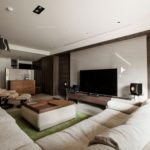 The Wang House Apartment In Taiwan Upon The Project Of The PM Design Studio 16