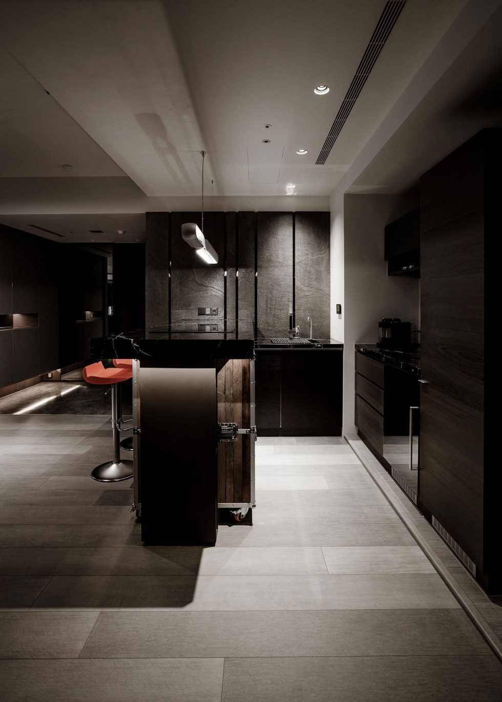 The Wang House Apartment In Taiwan Upon The Project Of The PM Design Studio 17