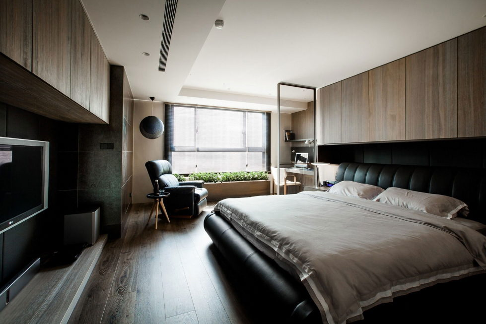 The Wang House Apartment In Taiwan Upon The Project Of The PM Design Studio 28