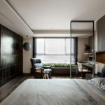 The Wang House Apartment In Taiwan Upon The Project Of The PM Design Studio 29