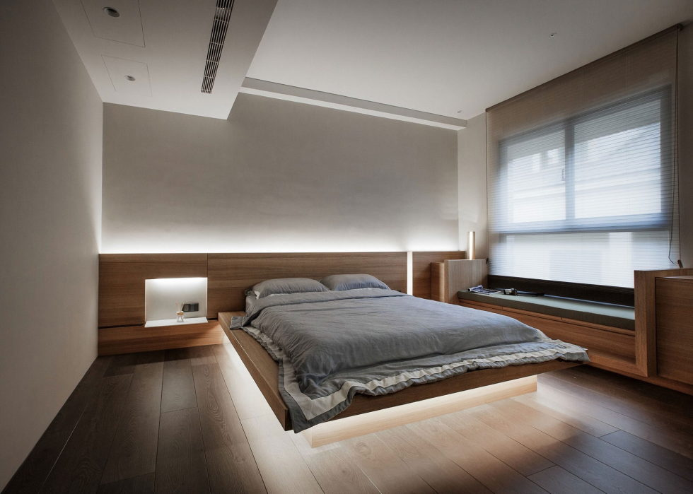 The Wang House Apartment In Taiwan Upon The Project Of The PM Design Studio 34