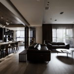 The Wang House Apartment In Taiwan Upon The Project Of The PM Design Studio 5