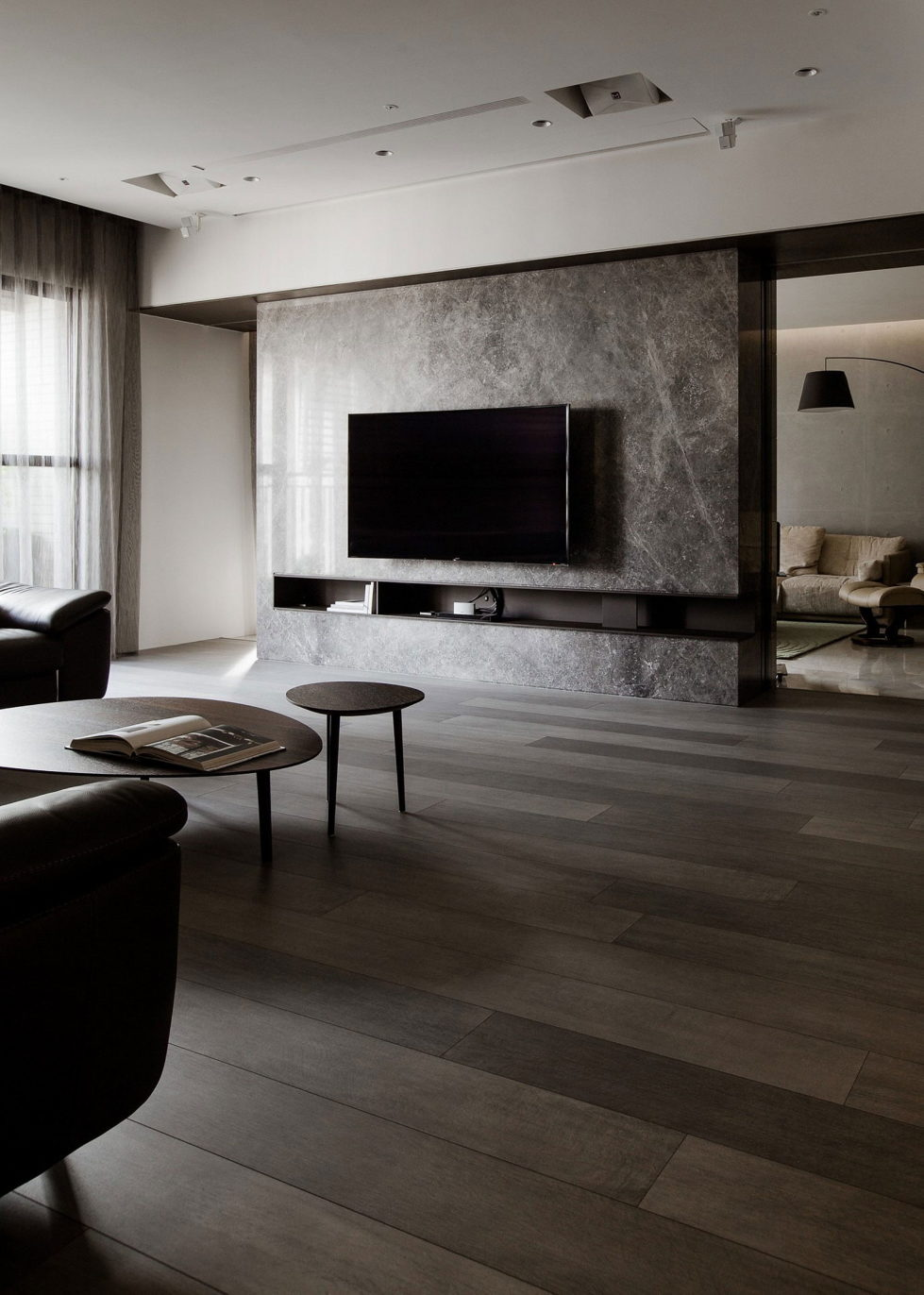 The Wang House Apartment In Taiwan Upon The Project Of The PM Design Studio 6