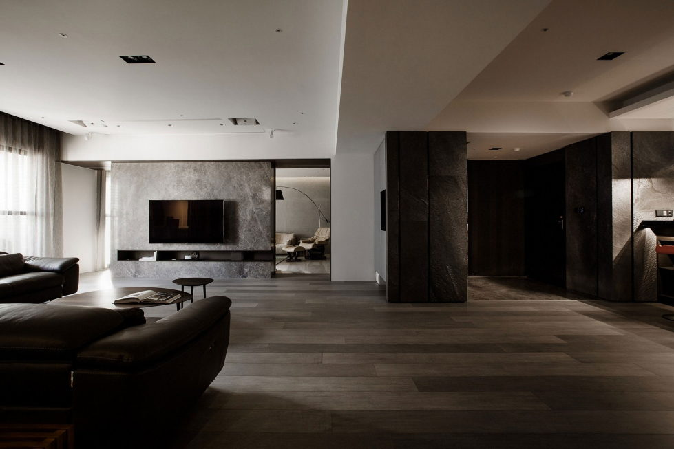 The Wang House Apartment In Taiwan Upon The Project Of The PM Design Studio 7