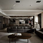The Wang House Apartment In Taiwan Upon The Project Of The PM Design Studio 8