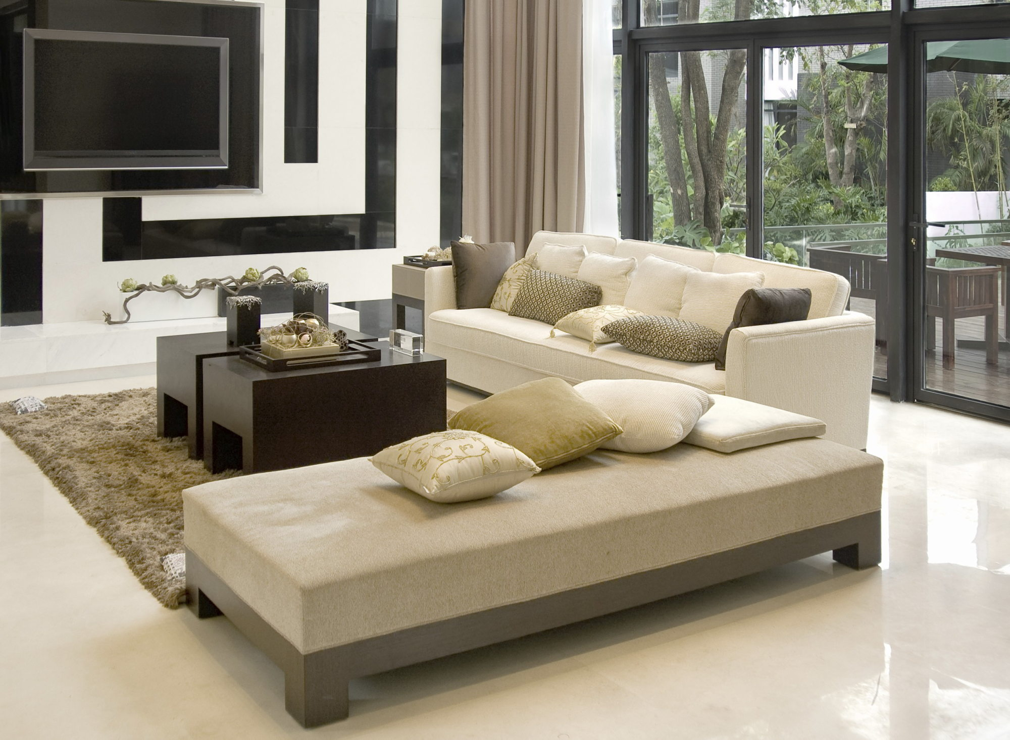 Beige Color In The Interior And Its