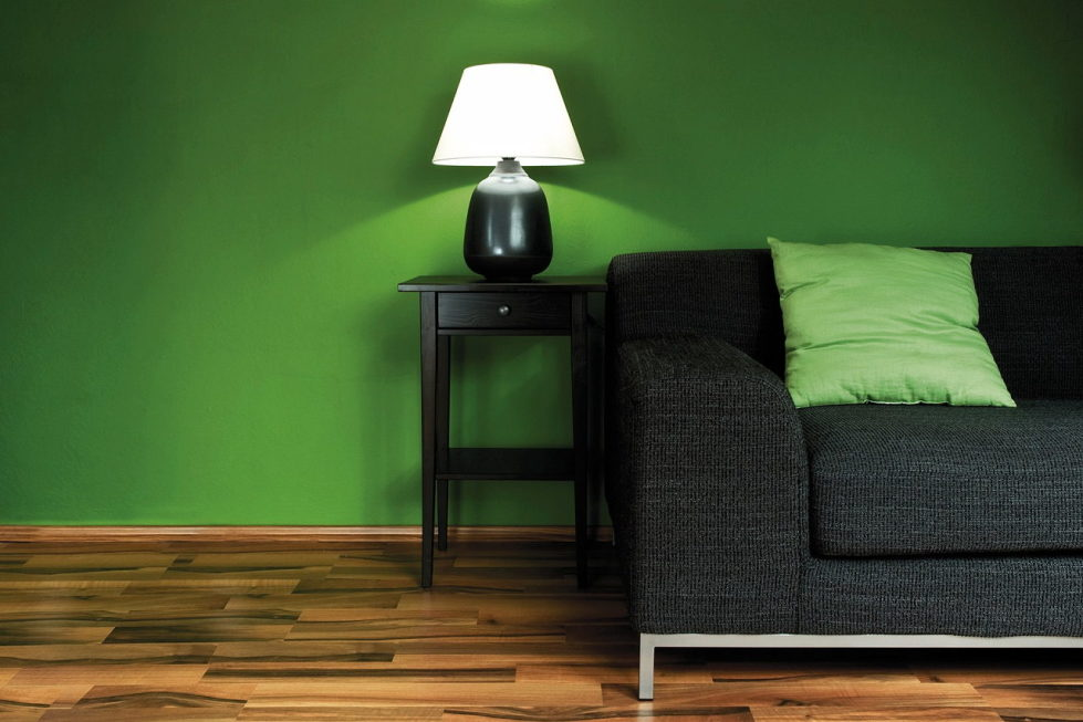 green color interior design