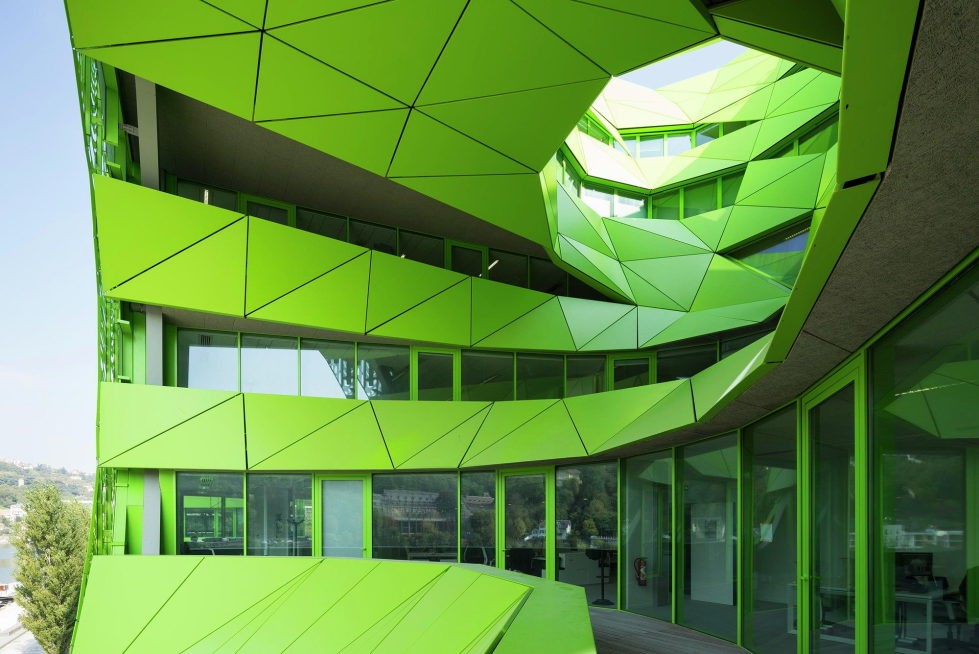 Euronews Headquarters In Lion From Jakob + MacFarlane Architects 9