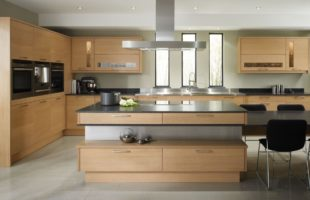 Furniture for Kitchen in Beige – modern style