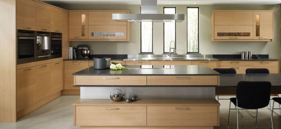 Furniture for Kitchen in Beige – modern style