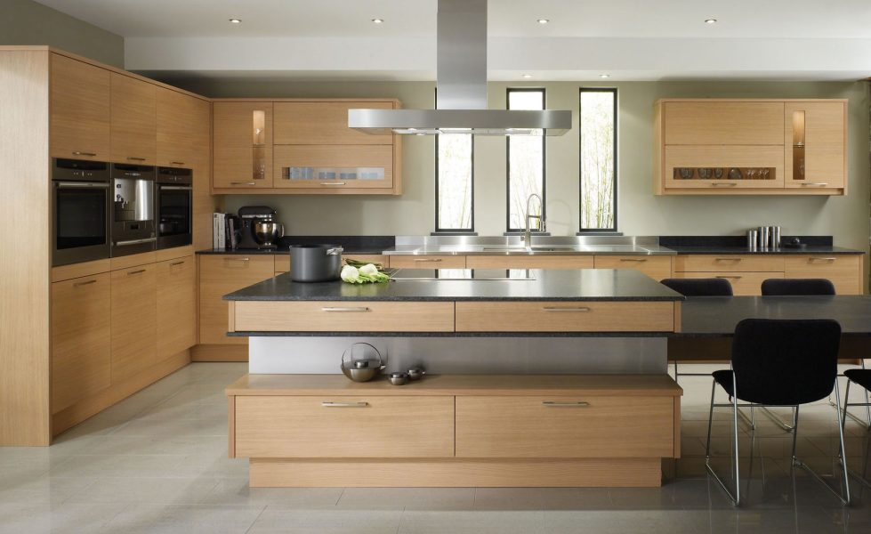 Kitchen in Beige Color