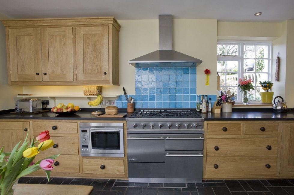 Furniture for Kitchen in Beige – retro style