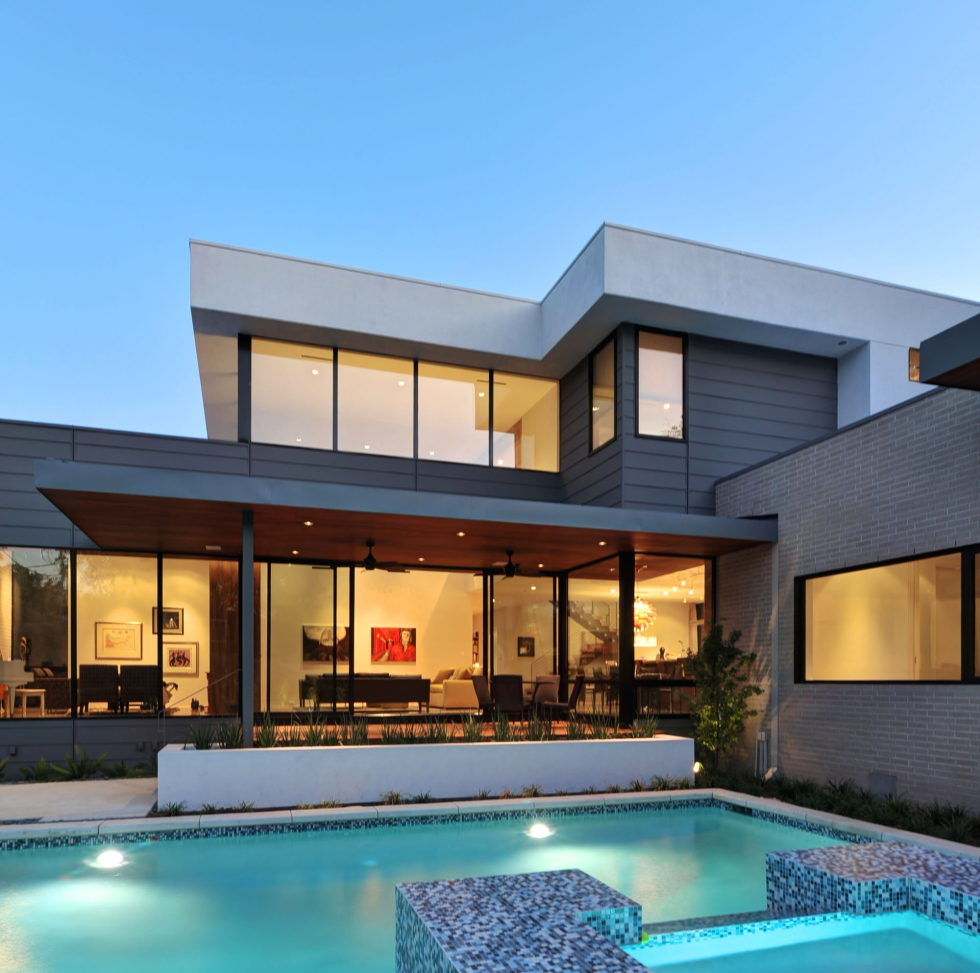 Modern House in Houston From Architectural Firm StudioMET 2