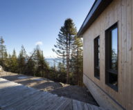 Panorama The Chalet On The Rocks In Saint-Simeon, Canada 4