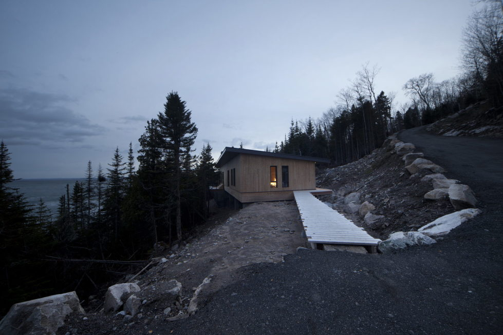 Panorama The Chalet On The Rocks In Saint-Simeon, Canada 5