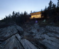 Panorama The Chalet On The Rocks In Saint-Simeon, Canada 8