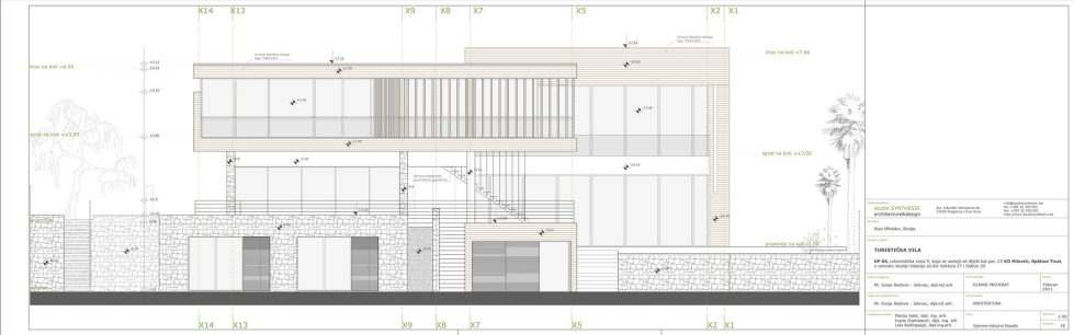 S, M, L - Villa In Montenegro From Studio SYNTHESIS 26