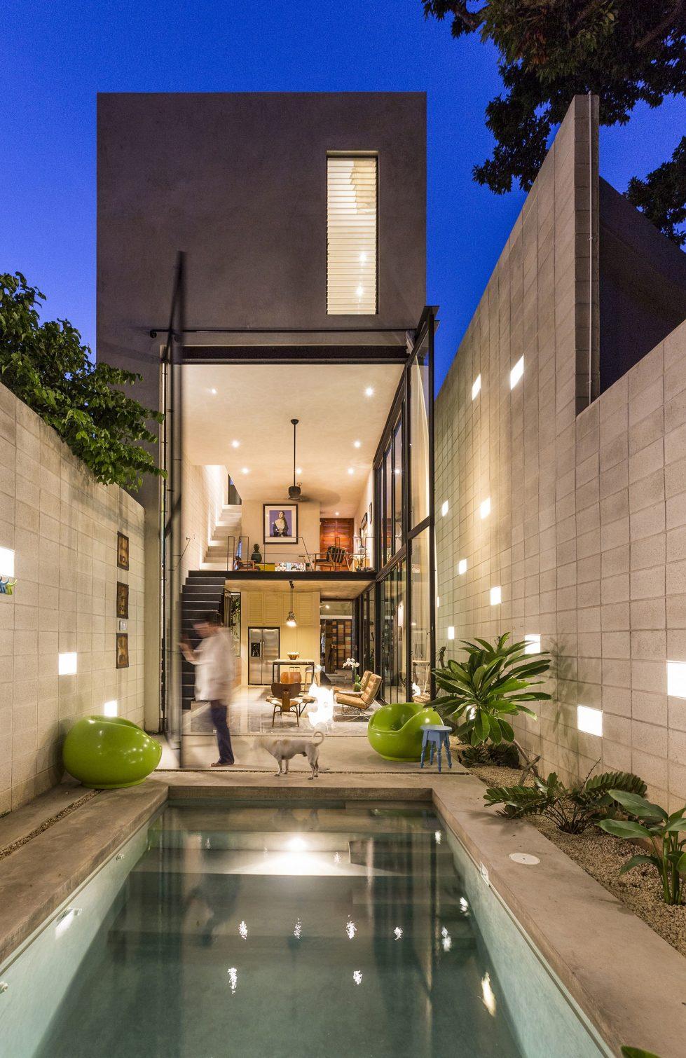 The Glass House In Mexico From Taller Estilo Studio 1