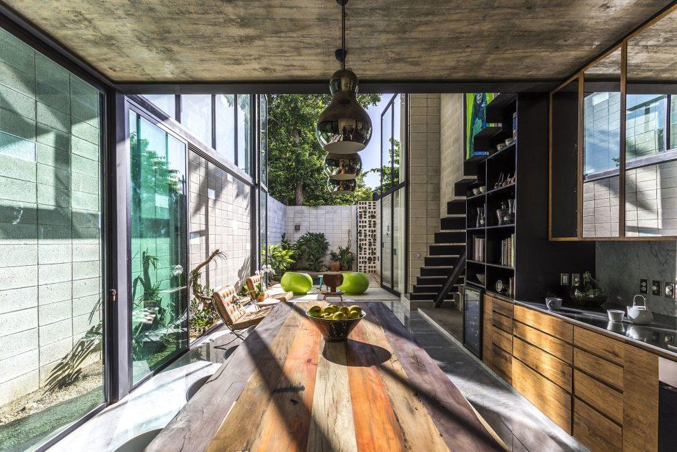 The Glass House In Mexico From Taller Estilo Studio 6