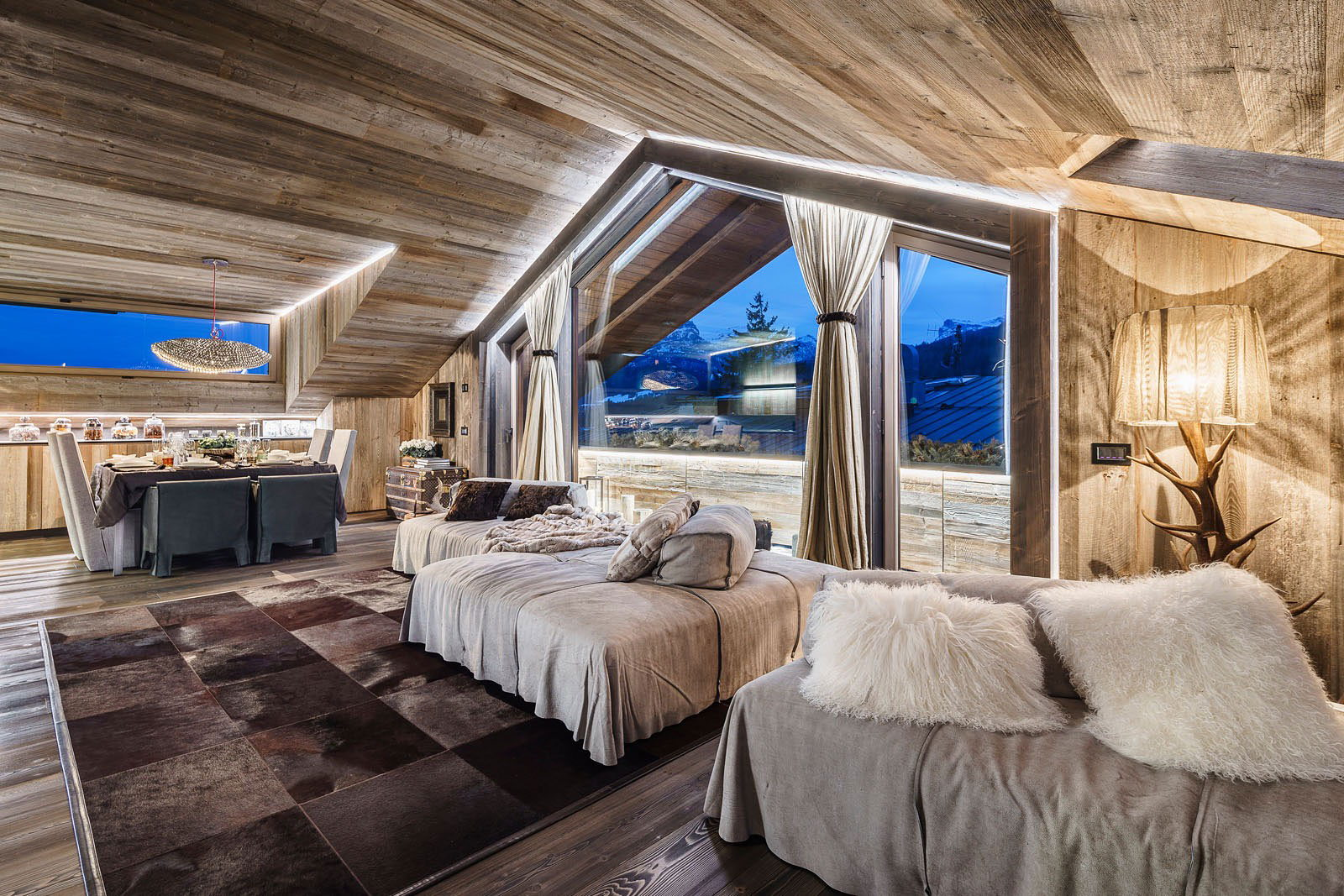 The house in chalet style from zwd projects studio - Chalet deco ...