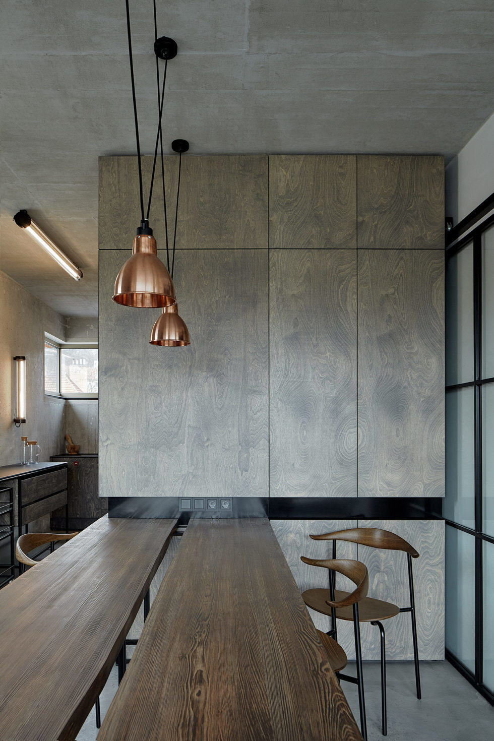 The Hrebenky Loft In Prague Upon The Project Of Formafatal Studio 10