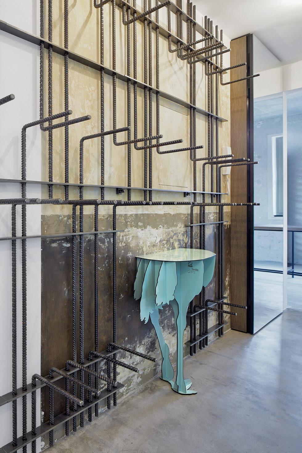 The Hrebenky Loft In Prague Upon The Project Of Formafatal Studio 15