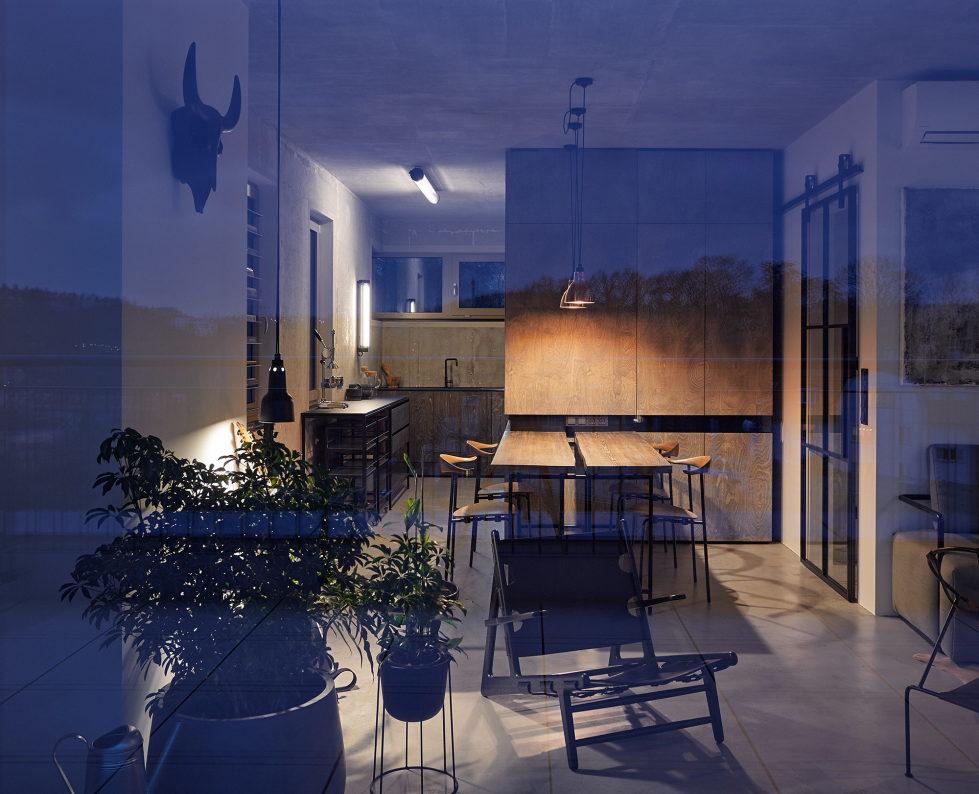 The Hrebenky Loft In Prague Upon The Project Of Formafatal Studio 2