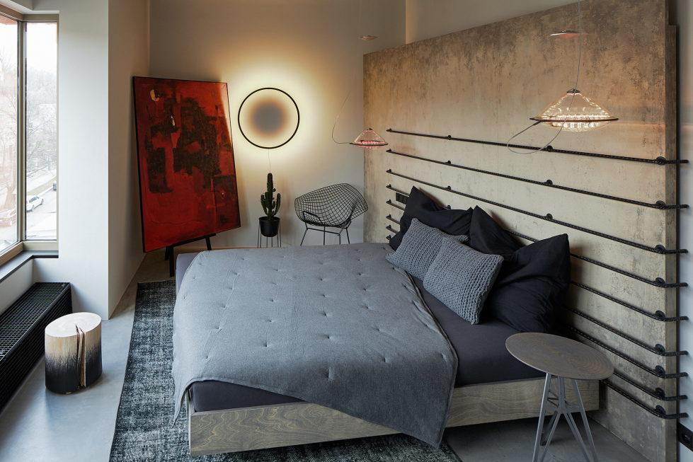 The Hrebenky Loft In Prague Upon The Project Of Formafatal Studio 24