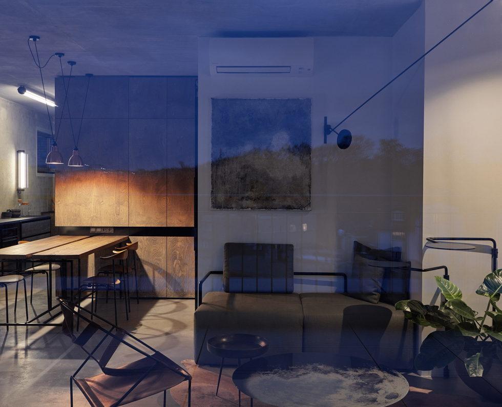 The Hrebenky Loft In Prague Upon The Project Of Formafatal Studio 3