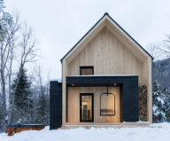 The Villa In Scandinavian Style In Canada From CARGO Architecture 1