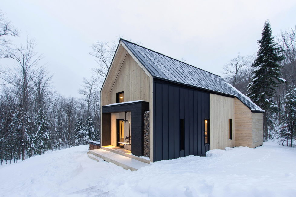 The Villa In Scandinavian Style In Canada From CARGO Architecture 12