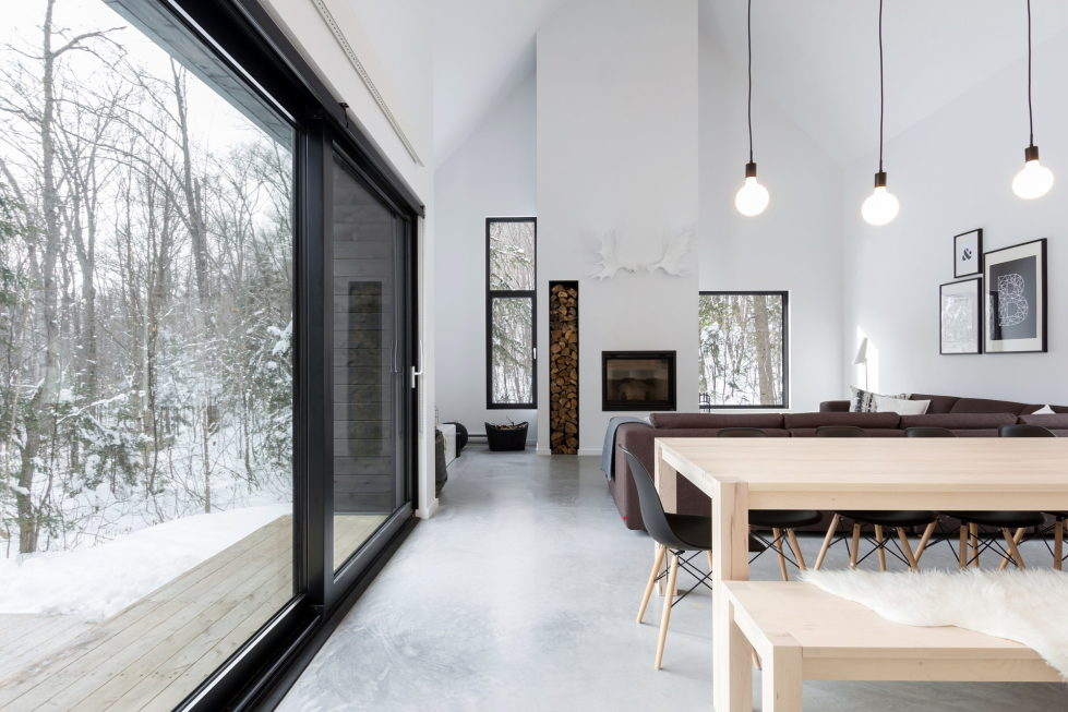 The Villa In Scandinavian Style In Canada From CARGO Architecture 14