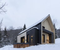 The Villa In Scandinavian Style In Canada From CARGO Architecture 6