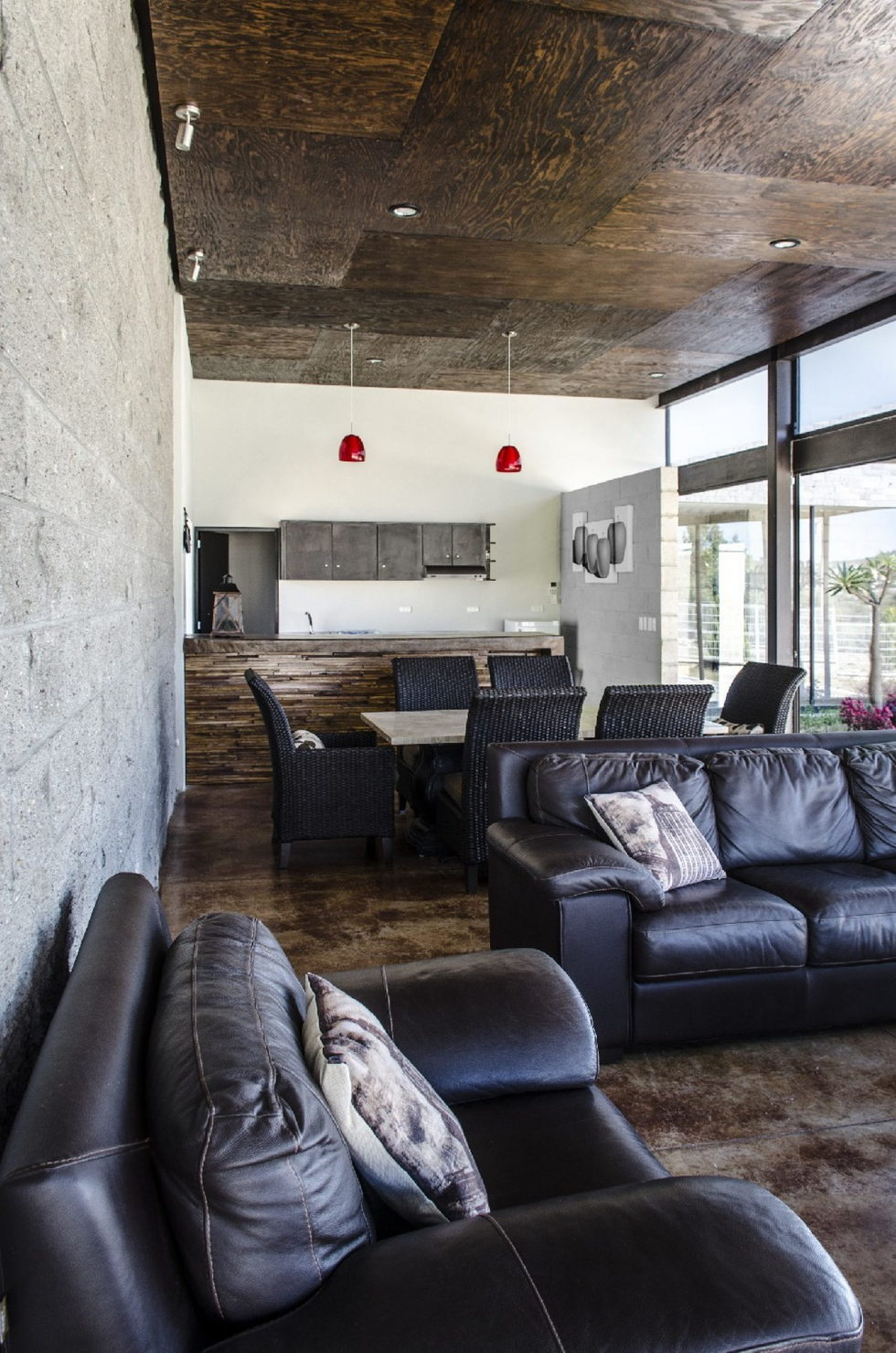 The modern private house La Tomatina house in Aguascalientes, Mexico 10